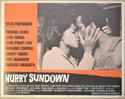HURRY SUNDOWN (Card 5) Cinema Lobby Card Set
