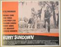 HURRY SUNDOWN (Card 6) Cinema Lobby Card Set