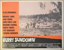 HURRY SUNDOWN (Card 7) Cinema Lobby Card Set