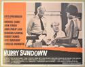 HURRY SUNDOWN (Card 8) Cinema Lobby Card Set