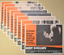 Hurry Sundown <p><i> Set Of 8 Cinema Lobby Cards </i></p>