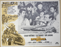 THE INVINCIBLE SIX (Card 1) Cinema Lobby Card Set