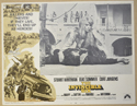 THE INVINCIBLE SIX (Card 4) Cinema Lobby Card Set