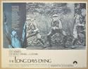 THE LONG DAYS DYING (Card 6) Cinema Lobby Card Set