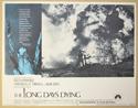 THE LONG DAYS DYING (Card 8) Cinema Lobby Card Set