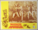 MASSACRE HARBOR (Card 2) Cinema Lobby Card Set