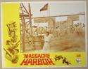 MASSACRE HARBOR (Card 4) Cinema Lobby Card Set
