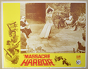 MASSACRE HARBOR (Card 7) Cinema Lobby Card Set