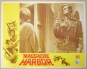 MASSACRE HARBOR (Card 8) Cinema Lobby Card Set