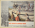 OH! WHAT A LOVELY WAR (Card 4) Cinema Lobby Card Set