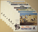 Only When I Larf <p><i> Set Of 8 Cinema Lobby Cards </i></p>