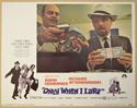 ONLY WHEN I LARF (Card 3) Cinema Lobby Card Set