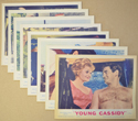 Young Cassidy <p><i> Set Of 8 Cinema Lobby Cards </i></p>