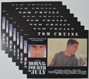 BORN ON THE FOURTH OF JULY (Full View) Cinema Set of Lobby Cards