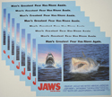 JAWS - THE REVENGE (Full View) Cinema Set of Lobby Cards