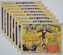 Strip (The) <p><a> Set Of 8 Cinema Lobby Cards </i></p>