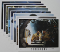 Screamers <p><a> Set Of 8 Cinema Lobby Cards </i></p>