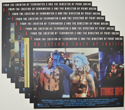 STRANGE DAYS (Full View) Cinema Set of Lobby Cards
