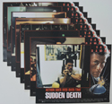 Sudden Death <p><a> Set Of 8 Cinema Lobby Cards </i></p>