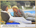 SCENES FROM THE CLASS STRUGGLE IN BEVERLY HILLS (Card 6) Cinema Lobby Card Set