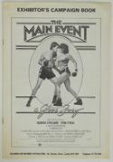 THE MAIN EVENT – Cinema Exhibitors Campaign Press Book – Front