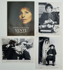 Yentl <p><i> Original Press Kit with 3 Black & White Stills </i></p>