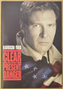 CLEAR AND PRESENT DANGER Original Cinema Press Kit – Synopsis