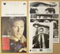 Clear And Present Danger <p><i> Original Press Kit with 5 Black & White Stills </i></p>