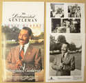 DISTINGUISHED GENTLEMAN Original Cinema Press Kit