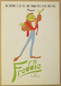FREDDIE AS F.R.O.7. Original Cinema Press Kit – Folder