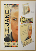 G.I. JANE Original Cinema Press Kit – Displays