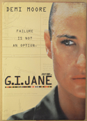 G.I. JANE Original Cinema Press Kit – Folder