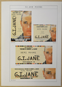 G.I. JANE Original Cinema Press Kit – Posters