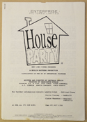 HOUSE PARTY Original Cinema Press Kit – Production Info