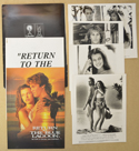 Return To The Blue Lagoon <p><i> Original Press Kit with 4 Black & White Stills </i></p>