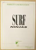 SURF NINJAS Original Cinema Press Kit – Production Info
