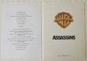 ASSASSINS Original Cinema Press Kit