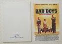 BAD BOYS Original Cinema Press Kit