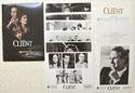 THE CLIENT Original Cinema Press Kit