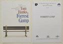 FORREST GUMP Original Cinema Press Kit