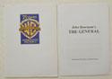 THE GENERAL Original Cinema Press Kit