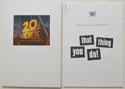 THAT THING YOU DO Original Cinema Press Kit