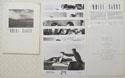 WHITE SANDS Original Cinema Press Kit
