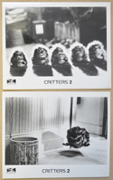 Critters <p><i> 2 Original Black And White Press Stills </i></p>
