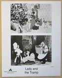 LADY AND THE TRAMP (Still 1) Cinema Black and White Press Stills