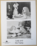 LADY AND THE TRAMP (Still 2) Cinema Black and White Press Stills