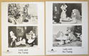 LADY AND THE TRAMP Cinema Black and White Press Stills