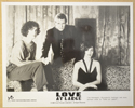 LOVE AT LARGE (Still 3) Cinema Black and White Press Stills