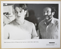 GOOD WILL HUNTING (Still 8) Cinema Black and White Press Stills