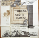 THE HOUSE OF THE SEVEN HAWKS – 3 Sheet Poster (BOTTOM)